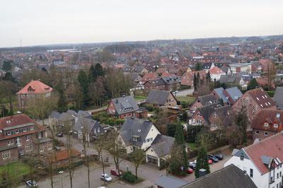 Blick von Kirchturm Richtung Südwesten, Februar 2014
