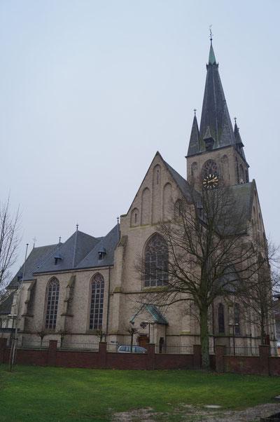 Nordansicht der Pankratiuskirche, Januar 2014
