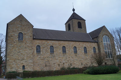 Südansicht der Marienkirche, Januar 2014