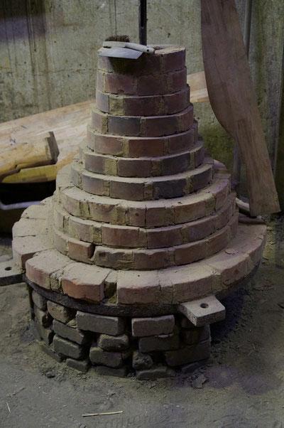 Glockengießerei, Gussform für eine Glocke, Februar 2014
