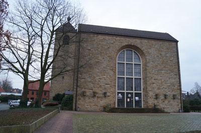 Westansicht der Marienkirche, Januar 2014