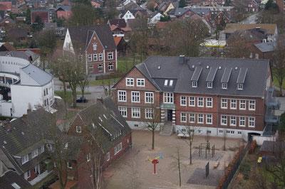 Heinrich-Hörnemann-Haus und Pankratiusschule, Februar 2014