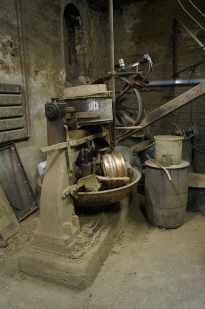 Im Innern der Glockengießerei, Februar 2014