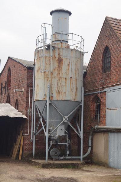 Glockengießerei, Kohlenstaubsilo, Februar 2014