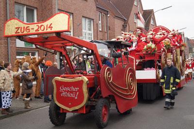 Karneval 2014, Prinzenwagen, Februar 2014