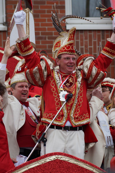 Karneval 2014, Prinz Uwe I., Februar 2014