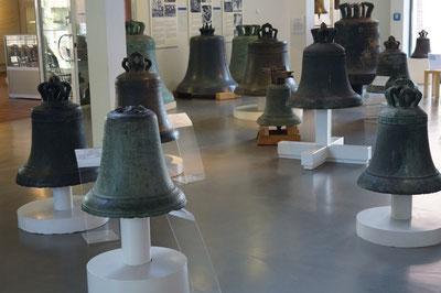 Queransicht des Glockenmuseums, März 2014