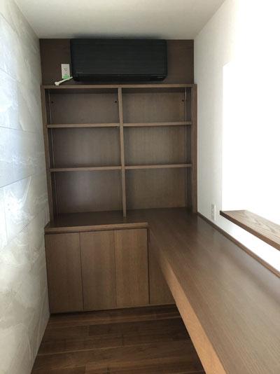 リビングデスク 収納棚 学習机