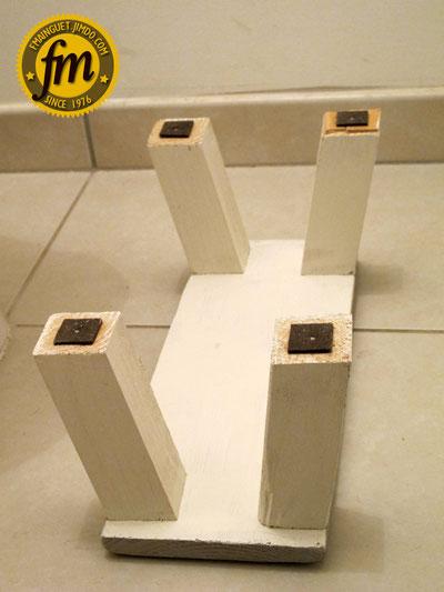 Fabrication petit marche pied en bois