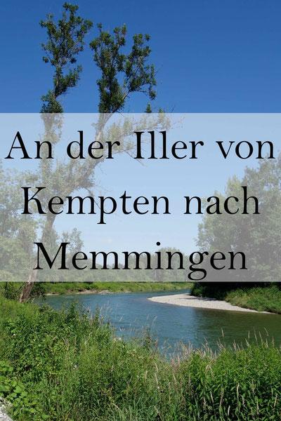 Radtour im Allgäu: An der Iller von Kempten nach Memmingen.