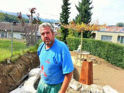 Angel Villaverde Gartenarbeiter