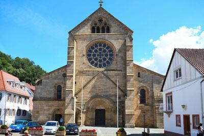 Abteikirche Otterberg Westansicht