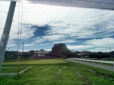 三田までの景色