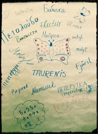 Teilnehmer einer unserer Sommer-Impro Shows gestalteten für uns dieses Plakat.... Vielen, vielen lieben Dank!