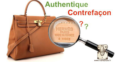comment reconnaitre un vrai sac Hermes