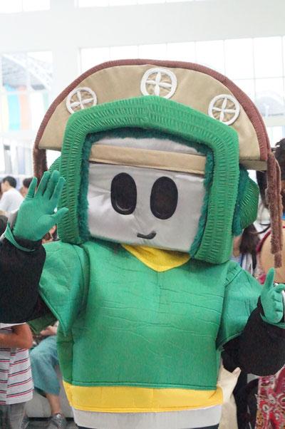 """Das diesjährige """"RoboCup-Maskottchen"""""""