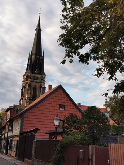 Kirchturm der Liebfrauenkirche in Wernigerode