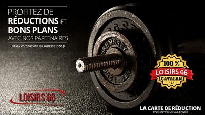 Réductions fitness musculation Perpignan loisirs 66 Loisirs66 carte de réduction Perpignan - Loisirs 66 - loisirs66.fr