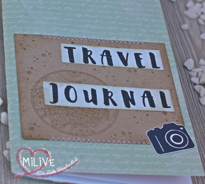 Travel Journal Papierprojekt