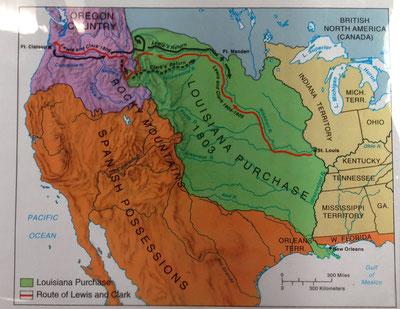 EEUU a inicios del siglo XIX