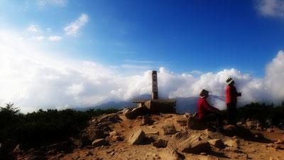 午後の雲海 丸山にて