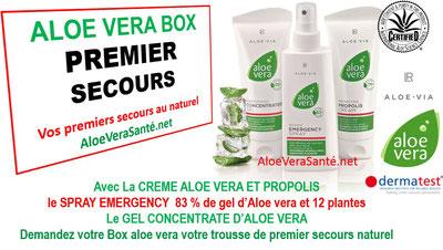 ALOE VERA BOX VIA : LES TROIS PRODUITS ALOE VERA LR QUI VOUS SONT LE PLUS INDISPENSABLE LR Health and Beauty systems