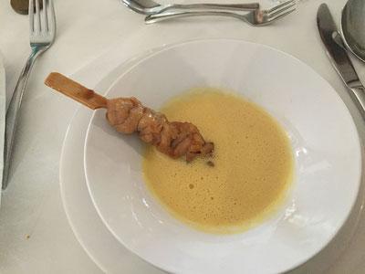 Karotten - Ingwerschaumsuppe