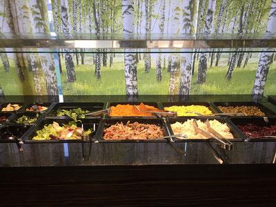 Das Salat - Buffet