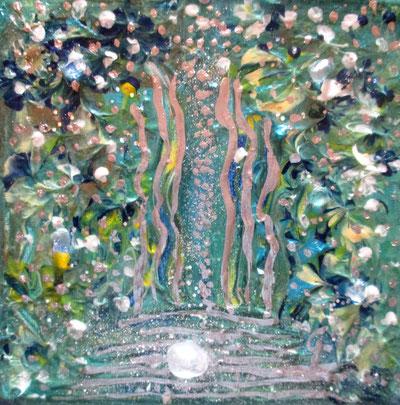 Acryl , 15x15cm