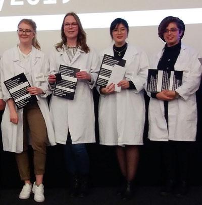 Lydia Niekrawiec, Marlena Reinke, Linh Phi, Cecilia Luna Pohl