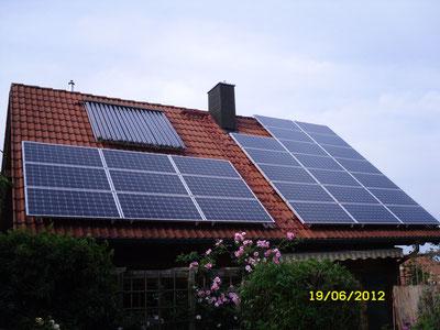 5,46 kWp Jetzendorf / IBC MonoSol mit SMA