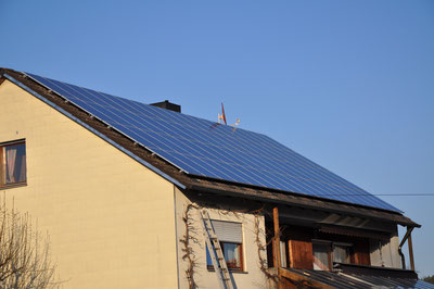 13,26 kWp Hirtlbach /  Suntech mit Steca