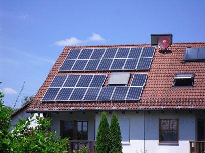 5,07 kWp Ismaning /  IBC MonoSol mit SMA