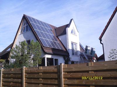 8,19 kWp Ismaning /  IBC MonoSol mit SMA