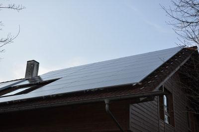 9,36 kWp Moosinning /  IBC MonoSol mit SMA