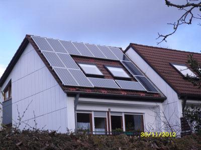 2,925 kWp Taufkirchen /  IBC MonoSol mit SMA