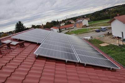 9,88 kWp Isen Ostseite /  IBC MonoSol mit SMA