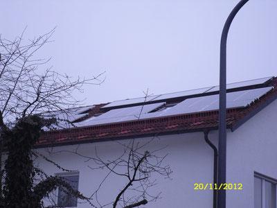 4,68 kWp München /  IBC MonoSol mit SMA