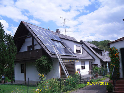 6,825 kWp Moosburg /  IBC MonoSol mit SMA