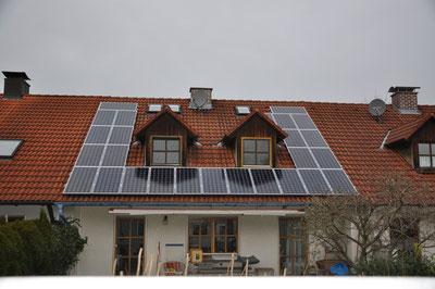 5,2 kWp Schwabmünchen /  Suntech mit SMA