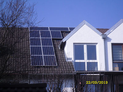 2,4 kWp Lohof / IBC MonoSol mit SMA