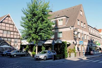 Hotel Vogt in Rietberg Gebäude Seitenaufnahme