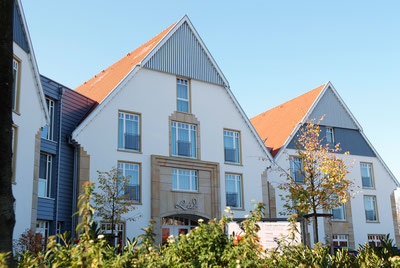 Lind Hotel in Rietberg Gebäude Frontalaufnahme