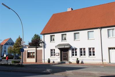 Hotel zur Post in Rietberg Gebäude Frontalaufnahme