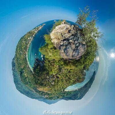 Kugelpanorama,  Thailand, Koh Tao, Viewpoint 180x360 Panorama, 360 Grad, 360 Grad Panorama, Belichtungsreise