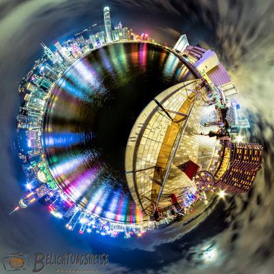 Kugelpanorama,  Hongkong, Honk Kong, 180x360 Panorama, 360 Grad, 360 Grad Panorama, Belichtungsreise