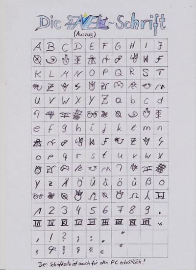 Favel-Schrift