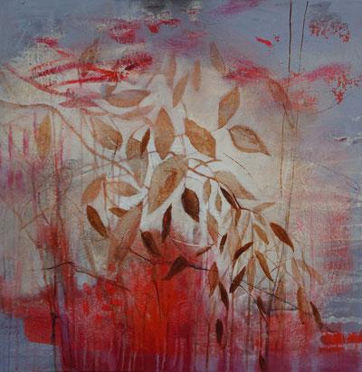 Herbst    80x80 cm   Acryl