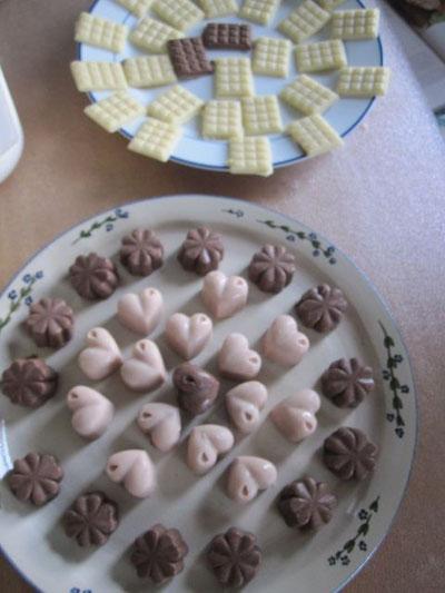 Selbstgemachte Rohkost-Schokoladenpralinen zu meiner nachgeholten Geburtstagsfeier