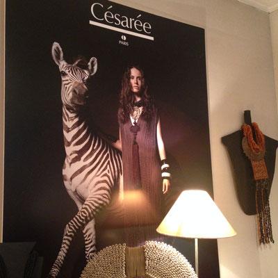 bijou de créateur paris excellence luxe prestige zèbre césarée